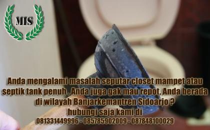 Layanan jasa sedot wc Bajarkemantren Buduran Sidoarjo