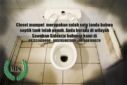 Jasa sedot wc Sawohan kecamatan Buduran Sidoarjo
