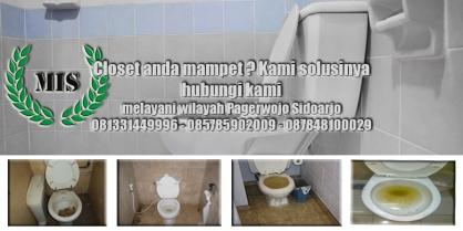 Layanan jasa sedot wc Pagerwojo Sidoarjo