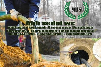 Layanan sedot wc Asemrowo Kecamatan Asemrowo Surabaya