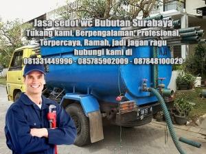 Layanan sedot wc Bubutan Kecamatan Bubutan Surabaya