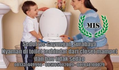 Layanan sedot wc Gayungan Kecamatan Gayungan Surabaya