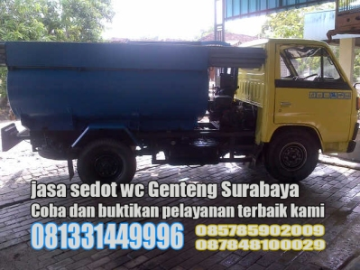 Layanan sedot wc Genteng Kecamatan Genteng Surabaya