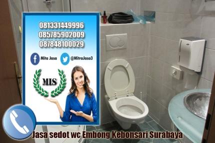 Layanan sedot wc Kebonsari Surabaya