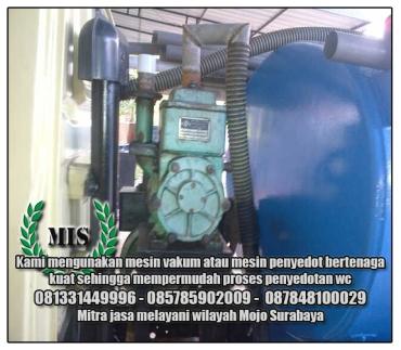Layanan sedot wc Mojo Surabaya