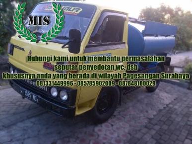 Layanan sedot wc Pagesangan Kecamatan Jambangan Surabaya