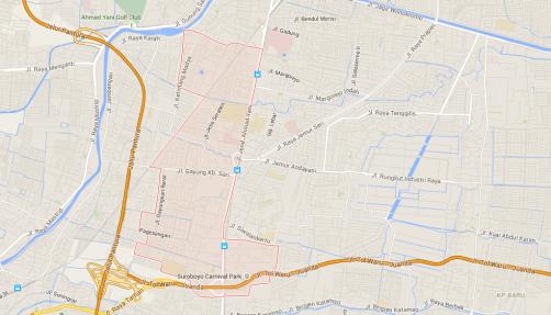 Pelayanan sedot wc Kecamata Gayugan Surabaya
