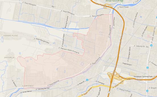 Pelayanan sedot wc Kecamatan Karangpilang Surabaya