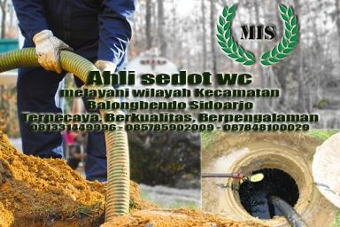 Layanan sedot wc Balongbendo Kecamatan Balongbendo Sidoarjo