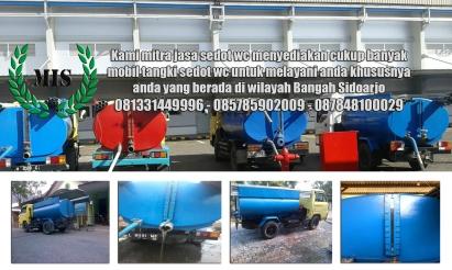 Layanan sedot wc Bangah Sidoarjo