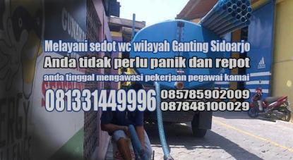 Layanan sedot wc Ganting Sidoarjo