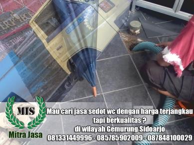 Layanan sedot wc Gemurung Sidoarjo