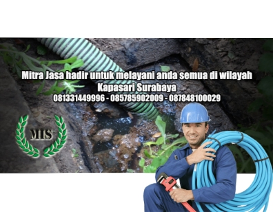 Layanan sedot wc Kapasari Surabaya