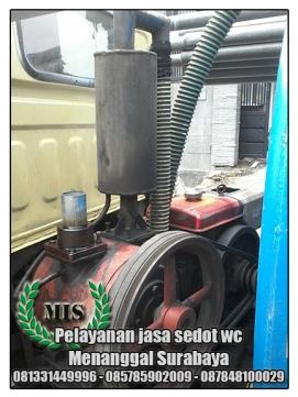 Layanan sedot wc Menanggal Surabaya