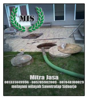 Layanan sedot wc Sawotratap Sidoarjo
