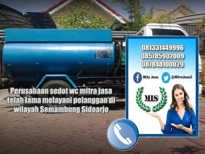 Layanan sedot wc Semambung Sidoarjo