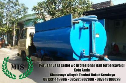 Layanan sedot wc Tembok Dukuh Surabaya