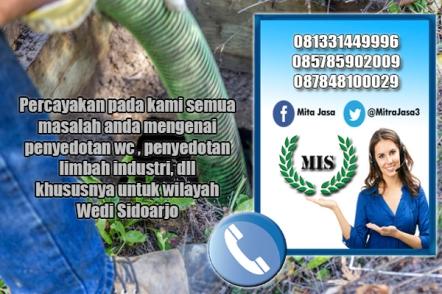 Layanan sedot wc Wedi Sidoarjo