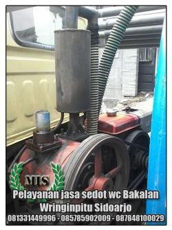 Layanan sedot wc Bakalan Wringinpitu Sidoarjo
