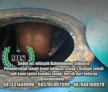 Layanan sedot wc Balongdowo Sidoarjo