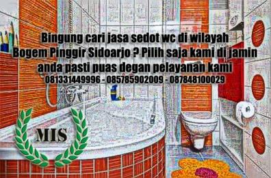 Layanan sedot wc Bogem Pinggir Sidoarjo