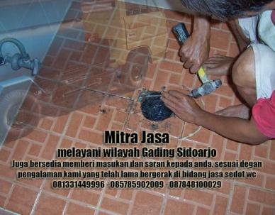 Layanan sedot wc Gading Sidoarjo