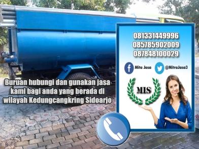 Layanan sedot wc Kedungcangkring Sidoarjo