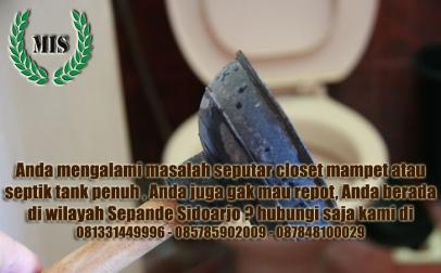 Layanan sedot wc Sepande Sidoarjo