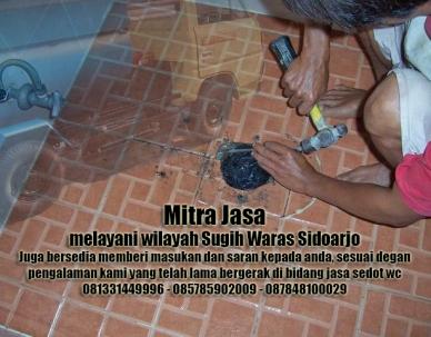 Layanan sedot wc Sugih Waras Sidoarjo