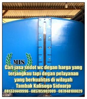 Layanan sedot wc Tambak Kalisogo Sidoarjo