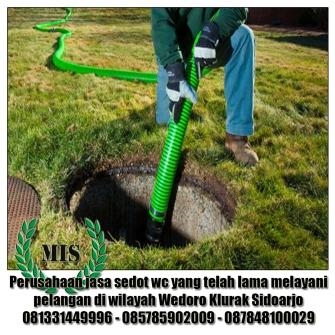 Layanan sedot wc Wedoro Klurak Sidoarjo